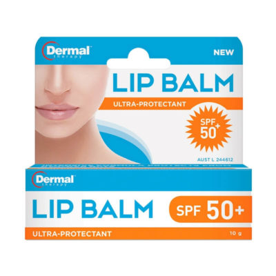 Dermal Therapy Lip Balm spf50 pack