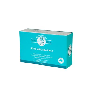 Highlands Goat Milk Soap - Natural